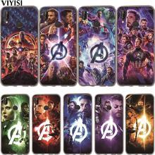 Marvel Avengers Iron Man Luxury Superhero Phone Case Etui For Huawei P30 Pro P20 Lite Case Mate 20 lite Pro 9 10 P10 Lite Coque