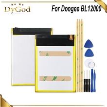 DyGod بطارية 12000mAh متوافقة مع Doogee BL12000 BL12000 Pro عالية الجودة سعة كبيرة استبدال الهاتف المحمول بطارية + أدوات