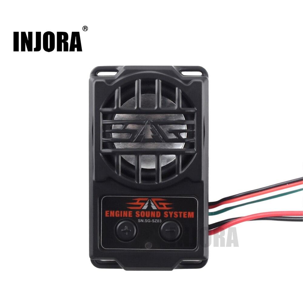 Simulador de sonido de motor de 5 modos INJORA para coche modelo 1/10 RC