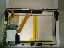 3.7 v 10000 mah recarregável li-polímero bateria para tablet pc chuwei hi12 duplo sistema 64g tablet pc 12 polegadas chuwi hi10 plus