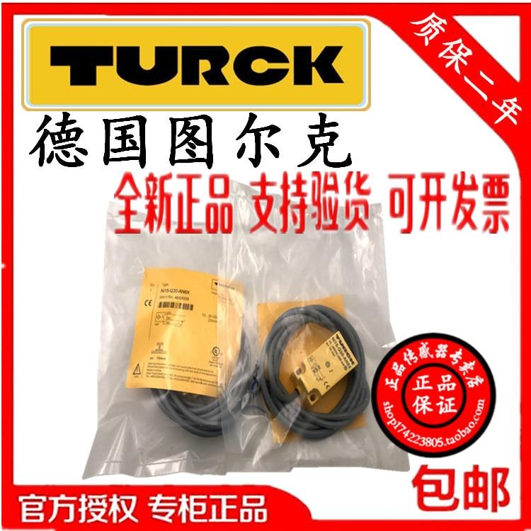 Original auténtico Turck sensor de interruptor de sensor de posición sensor de vibración Ni15-Q30-AN6X/AP6X Ni5-Q18-AN6X NI10-Q25-AN6X