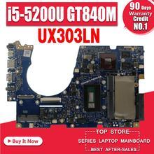 UX303LN carte mère i5-5200U pour ASUS UX303 UX303L UX303LN ordinateur portable carte mère UX303LN carte mère UX303LN carte mère test 100% ok