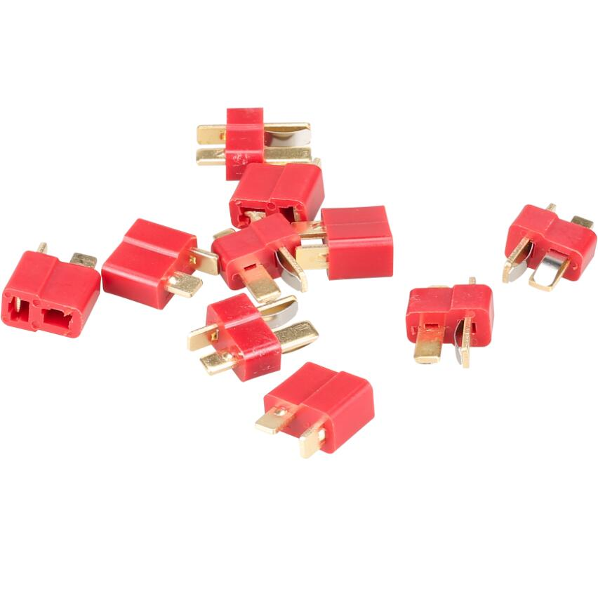 50 pares Dean conector Deans T enchufe para ESC batería Lipo batería 20 piezas 20%