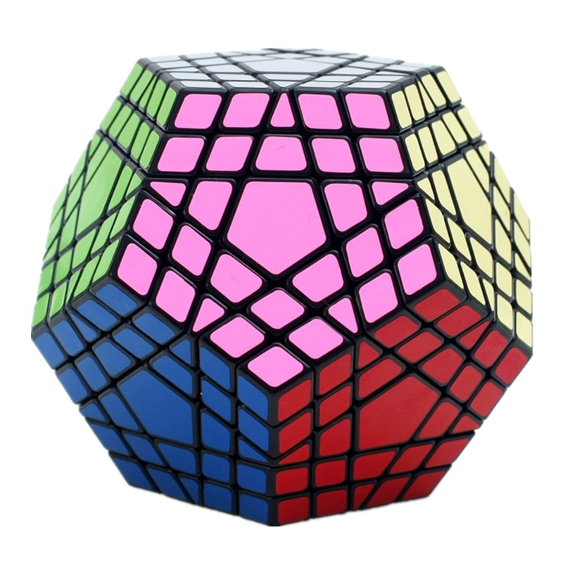 Shengshou-مكعب سحري Wumofang 5x5x5 ، Megaminx ، Gigaminx 5x5 ، مكعب Dodecahedron احترافي ، لعبة تعليمية ، ألغاز