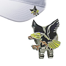 Golf Hat Cap clip golf marker Eagle pictures Outdoor Alloy accessories golf Fans supplies free shipp
