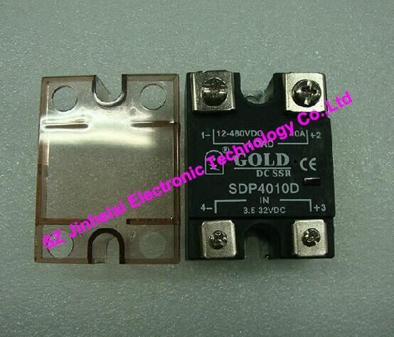 SDP4010D oro auténtico original control DC relé de estado sólido 10A 12-480VDC 3,5-32VDC