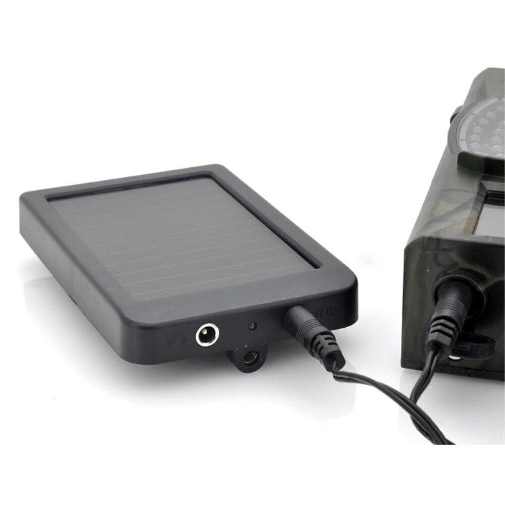 HC300M HC550M/G foto-trampas juego Cámara batería Solar Panel cargador Panel de energía Solar para Wild Trail Cámara