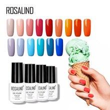 ROSALIND 7 ML 68 couleur série Gel Vernis à ongles laque gel peinture Vernis Semi permanent Uv Lot Vernis à ongles gel Vernis