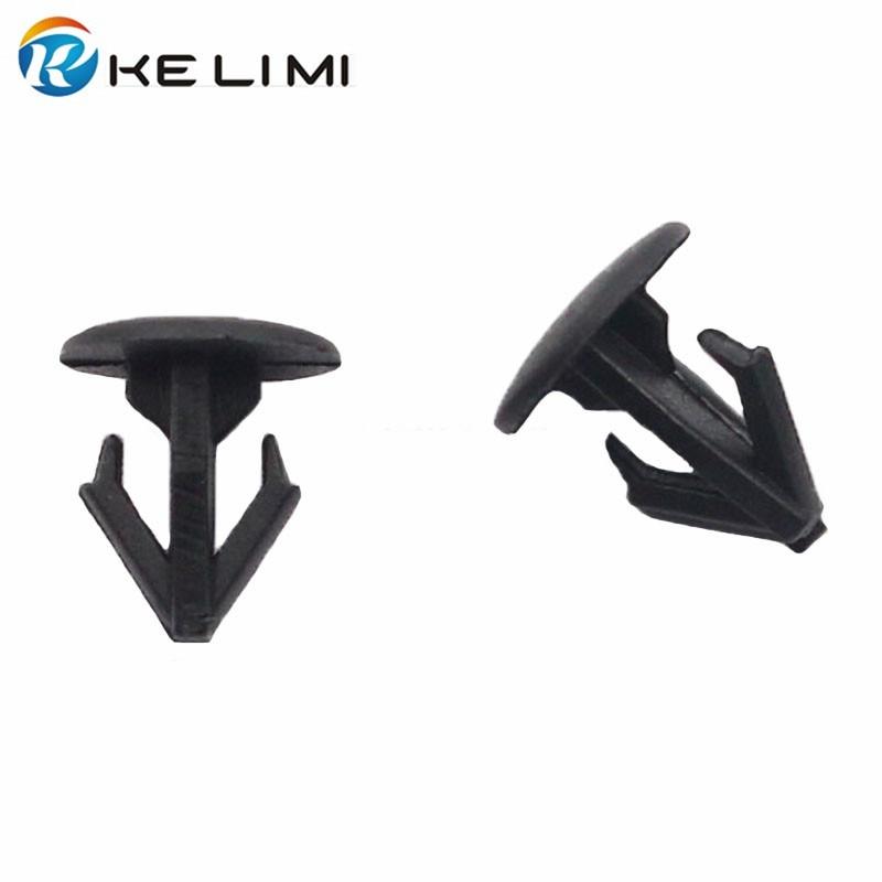 KELIMI Auto Plastic Insulation Trim Snaps Fastener Rivet Nailed For Honda Car-covers engine hood Retaining Clip