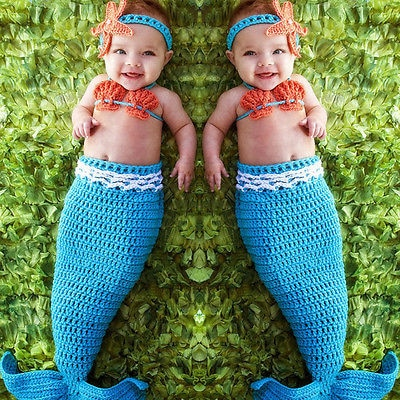 AliExpress - newborn photography props baby Costume Mermaid Infant baby photo props Knitting fotografia newborn crochet outfits accessories