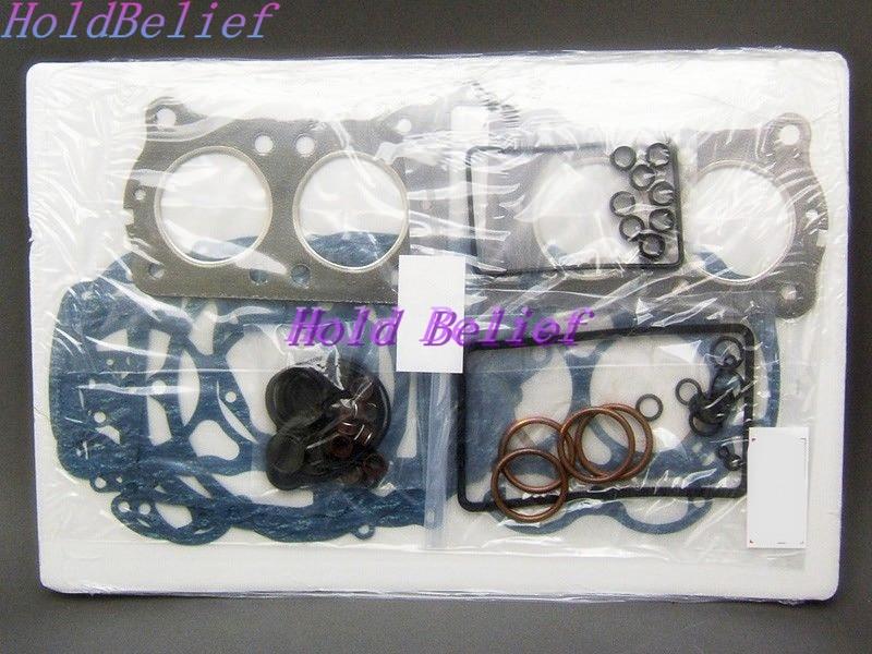 K3D Piston 1pc Piston Ring Set + Full Gasket Kit 1 Set For Mitsubishi Engine