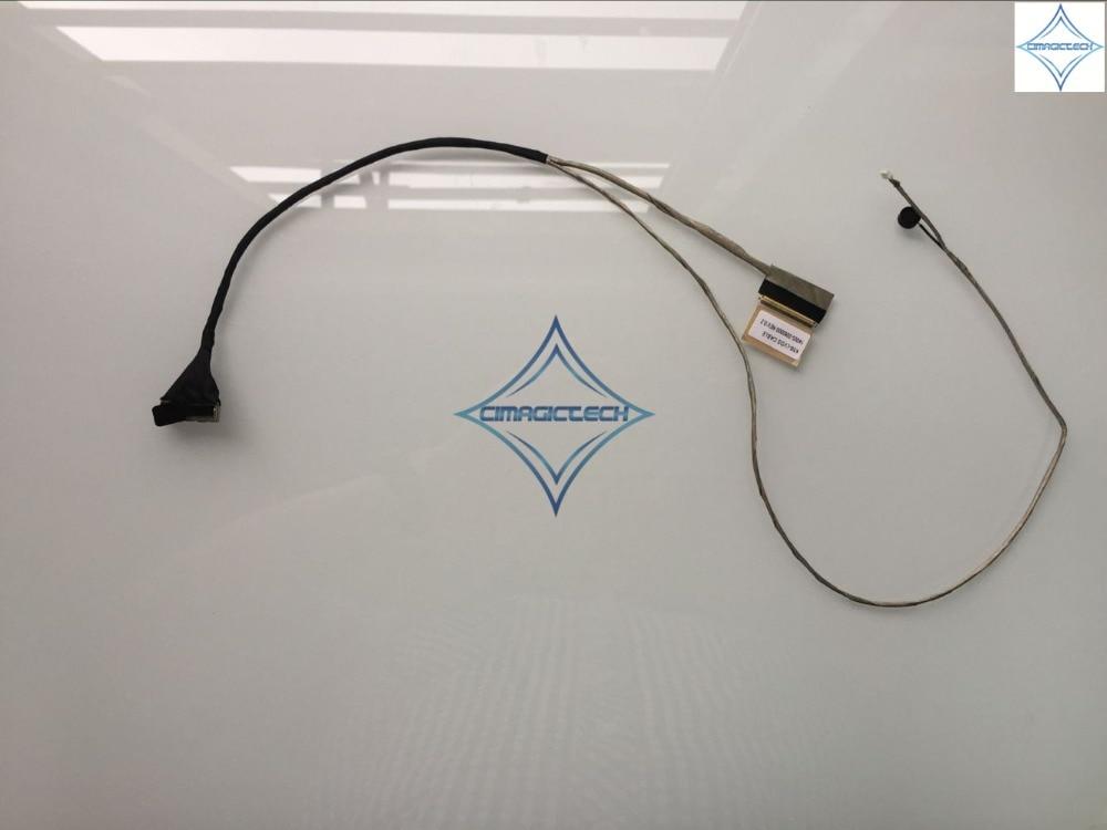 كابل فيديو LCD lvds لـ Asus K56 K56C K56CM K56CA K56CB K56E S56C 14005-00600000 ، جديد
