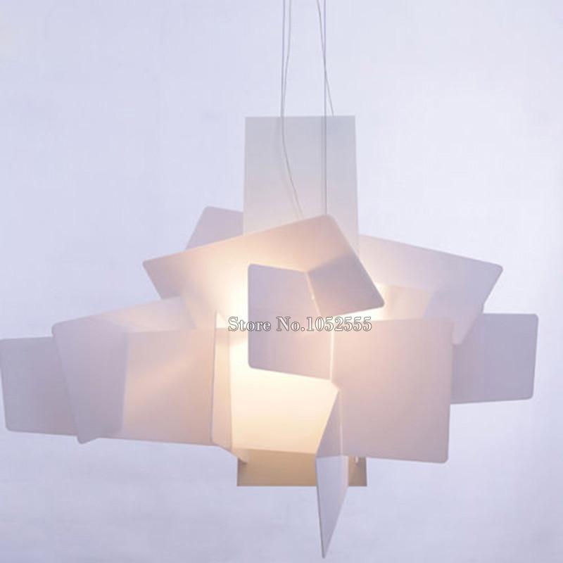New Designer Lamp Big Bang Suspension Pendant Light Acrylic Lamps D65CM/90CM K44