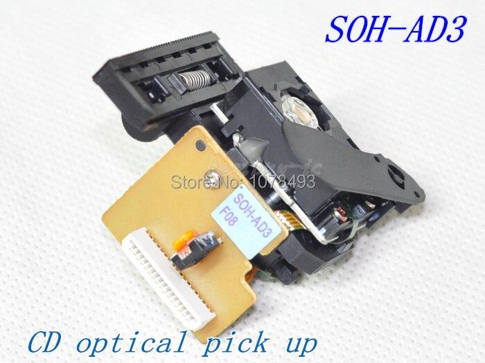 VCD óptico recogida/CD lente láser SOH-AD3/SOHAD3 CMS-D73