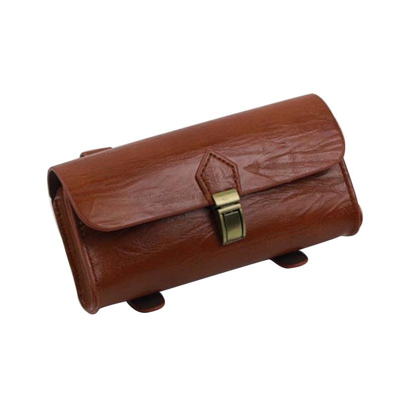 Сумка для велосипеда в ретро стиле, винтажная сумка-Седло для заднего сиденья