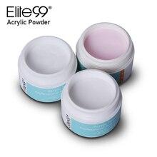 Elite99 fabricant de polymère de manucure dongle en poudre de cristal acrylique de couleur rose Transparent pour la conception dart dongle