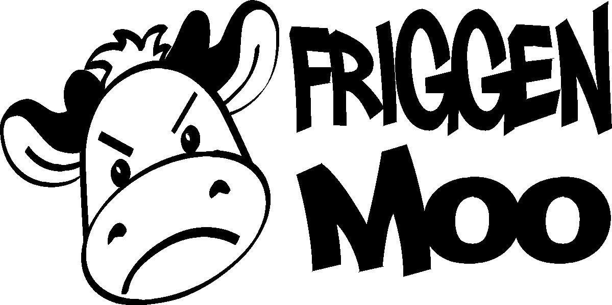 Смешные 4X4 ute кантри ферма молочная корова БНС Aussie Наклейка Стикер