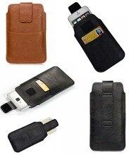 Tasche Seil Holster Pull Tab Sleeve Pouch Für iPhone 7 8 Plus X XR XS Max 5 SE 5 S 5C 6 6 S Plus Tasche