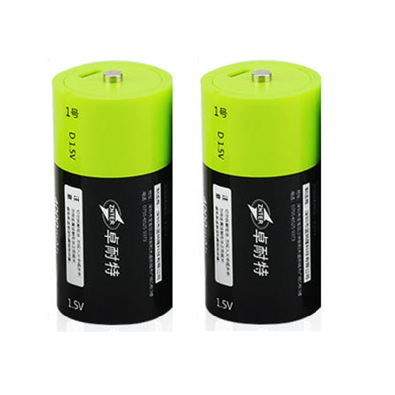 Gran oferta 2 uds ZNTER S11 1,5 V 4000mAh USB de la batería recargable batería de Lipo D para RC Drone con cámara Accesorios