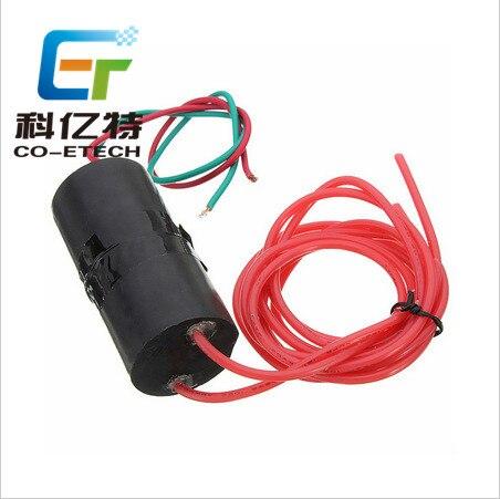 Super fuerte pulso de arco 6-12V DC DC600KV generador de alto voltaje alto módulo de voltaje descarga eléctrica Paquete de alto voltaje