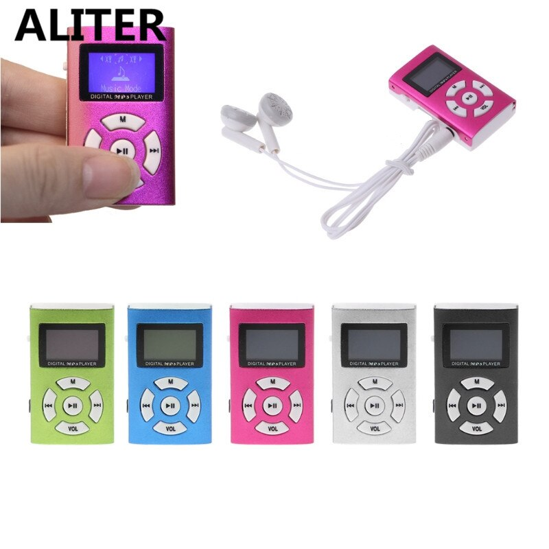 Tragbare Mini USB LCD Screen Digital MP3 Player Klassische Touch ton Musik Player
