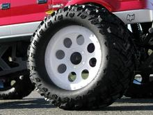 2pcs Monster Truck Wheels/Rims Tires 1/8 RC  ThunderTiger ARRMA Outcast ST-ET-SSO LOSI HSP hobao HPI SAVAGE Flux  Summit Revo