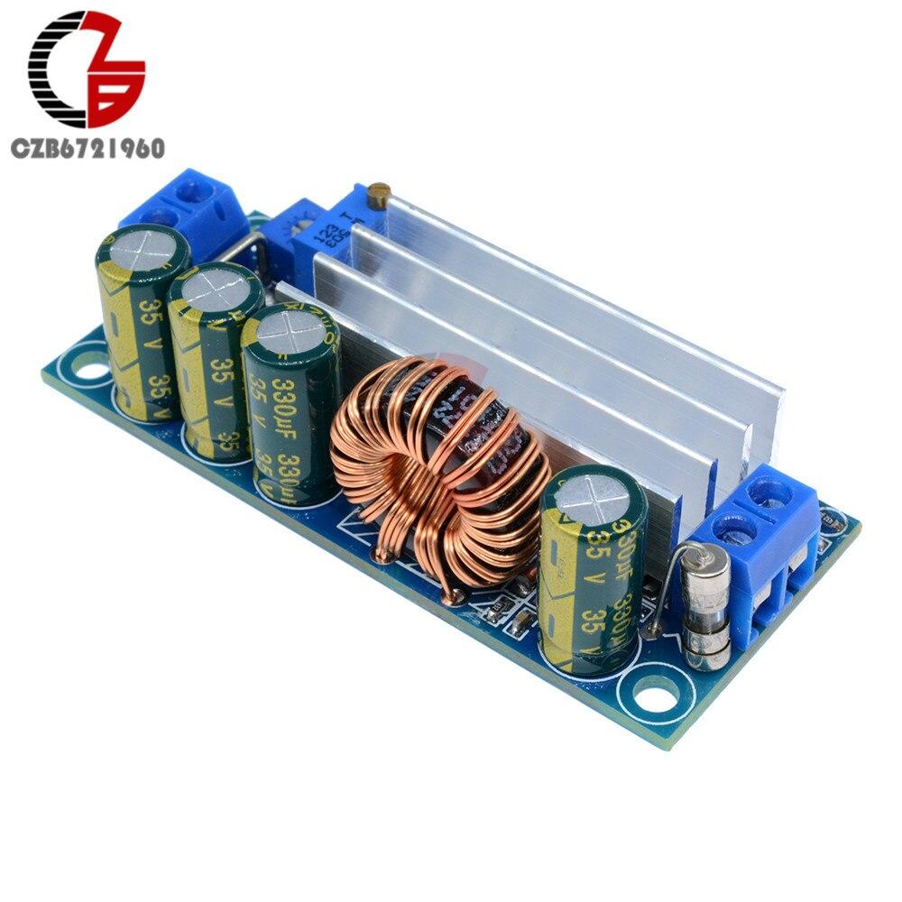 Fuente de alimentación DC convertidor Auto paso arriba/abajo Buck de corriente constante Módulo de refuerzo