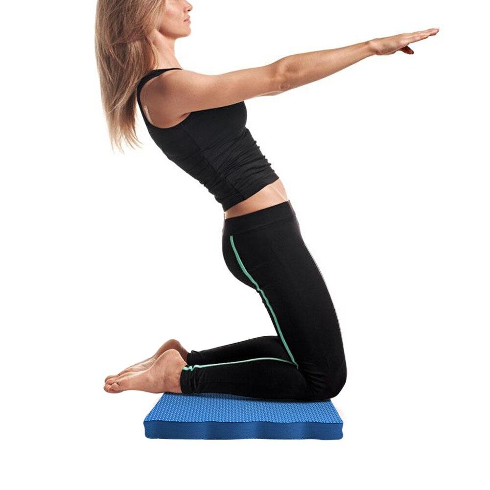 Rodillera DE Yoga PARA INTERIOR, rodilleras de jardín para Fitness, rodilleras, rodillera de espuma EVA de alta densidad, cojín grueso, protección de rodilla