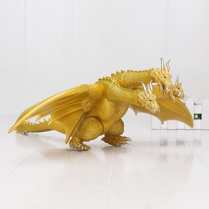 Экшн-фигурка золотого короля ротанга, движущаяся кукла 22 см, Детская модель, аниме-фильмы, детская игрушка динозавра Kaiju
