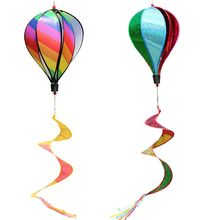 Hot Air Balloon Toy Windmill Spinner Garden Lawn Yard Ornament Outdoor Party Favor Supplies JUN-24