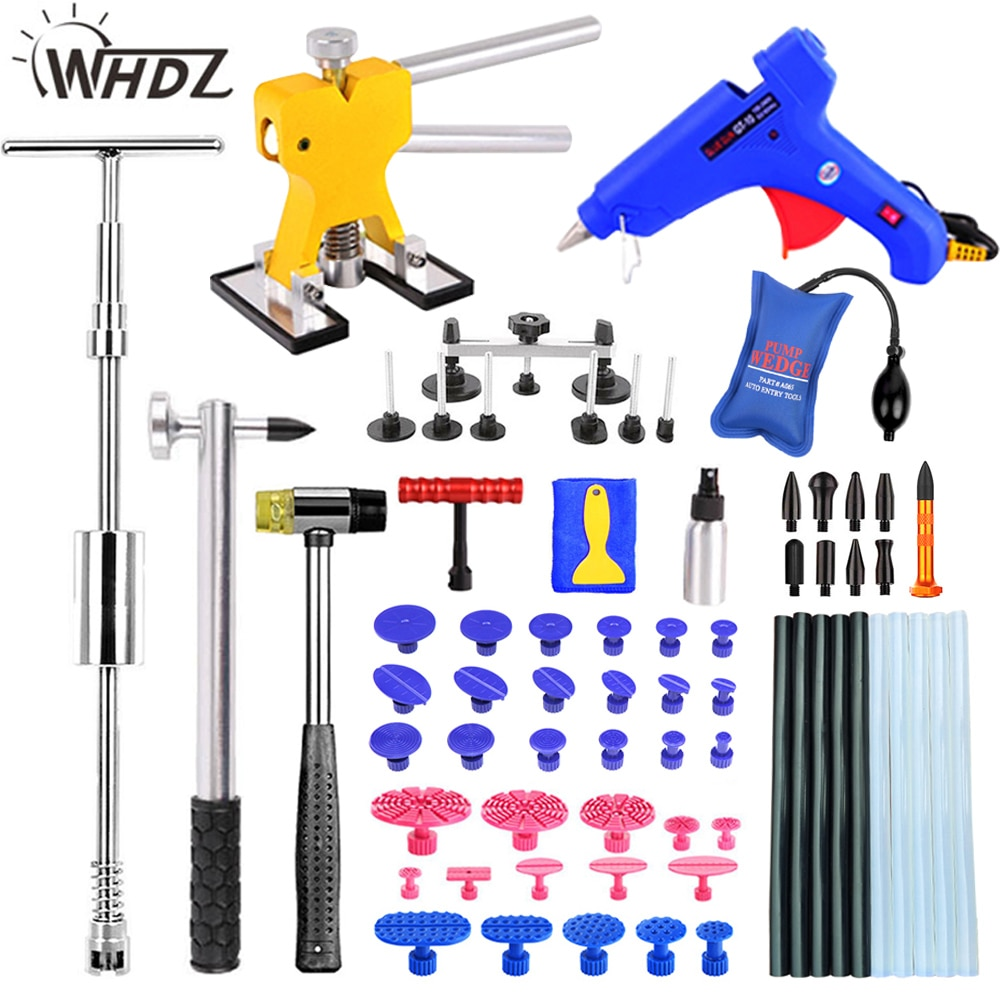 WHDZ DIY Paintless Dent Removal tools Dent Repair Kit  Puller Removal Dent Lifter Tool Set Suction Cup For Car