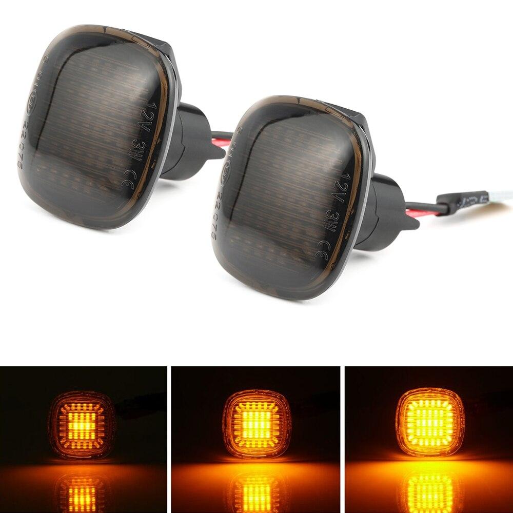 2 pièces Led clignotant latéral dynamique clignotant séquentiel clignotant lumière ambre LED garde-boue lampes pour Audi A3 8L A4 8D A4 S4 B5