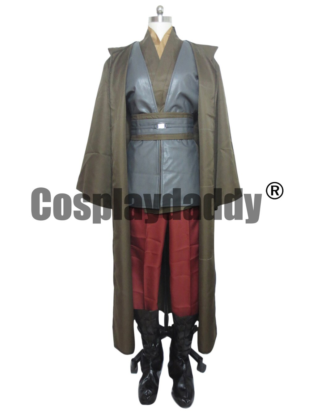 Star Wars Anakin Skywalker/Darth Vader Caballero Jedi Cosplay traje de capa