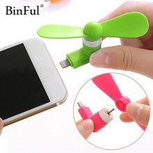 BinFul Ventilateur USB Portable gadget Téléphone Électrique Mini Ventilateur Refroidisseur Pour iphone 5 5s 6 6s plus 7 Plus gadgets USB Téléphone Portable