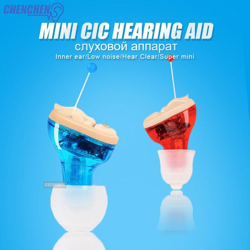 Mini Unsichtbare Hörgeräte Pflege Komplette In Ohr Einstellbar Digitale Hörgerät für Hörverlust Ältere Audiphone Ohr Pflege