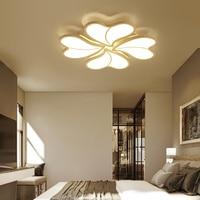 New Heart Shaped Petal LED Ceiling Lights Living room bedroom study restaurant lighting Household & Commercial ceiling lamps