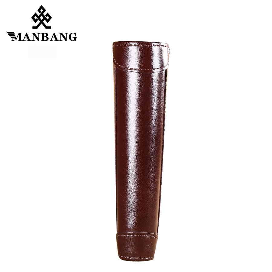 Купить с кэшбэком ManBang Time-limited Short Solid  Hot High Quality Genuine Leather Wallet Men Wallets Organizer Purse Billfold Coin Pocket