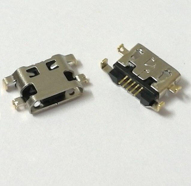 Precio al por mayor para Alcatel 6035R Idol S 4033 4033D ot6012 micro usb carga conector enchufe cargador puerto de enchufe de muelle