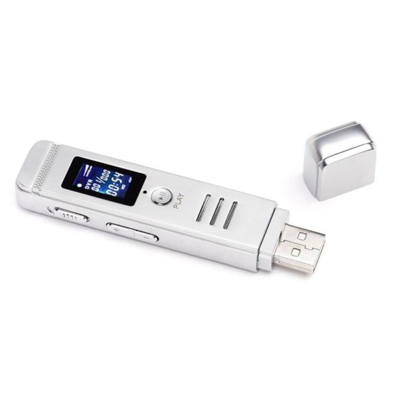Скрытый диктофон 8 Гб USB ЖК-экран цифровой Аудио Диктофон MP3 плеер Walkman Hifi Mp3 плеер _ STW