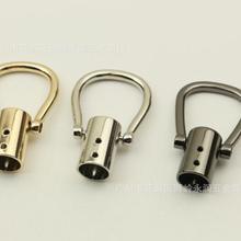 (20 pieces/lot) DIY Luggage Handbag Decorative Leather Rope/Tassel Bell Bag Hook Hardware Accessorie