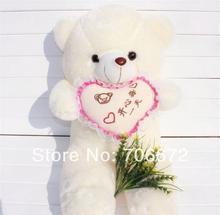 Nouvel ours en peluche mots chinois signifie