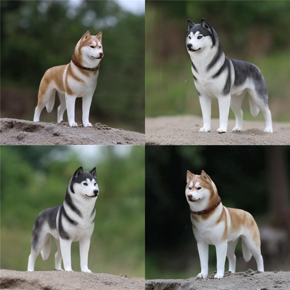 Juguetes de simulación de perro en miniatura de Husky Siberiano Mnotht 1/6 para 12 pulgadas, juguetes de figuras de acción, Colección l30, pasatiempos PRE-SALE