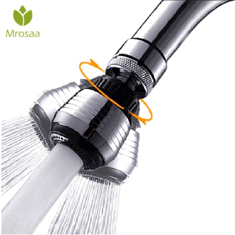 1 шт., вращающийся на 360 градусов фильтр-аэратор для крана, Сетчатое устройство для экономии воды, диффузор, насадка для крана, для кухни, ванн...