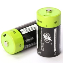 ZNTER 1.5V 3000mAh USB batterie Rechargeable taille C chargé Lipo Lithium polymère Batteria universel Micro USB Batteries de charge