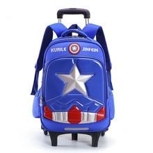 Sacs à bagages de voyage pour sac à dos décole de chariot denfant garçon sac à roulettes pour le sac à roulettes décole sac à dos roulant décole