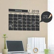 216 * Nuovo Mese essenziale ufficio Weekly Planner Calendario MEMO Lavagna Lavagna Autoadesivo Della Parete sala giochi per bambini studio room decor