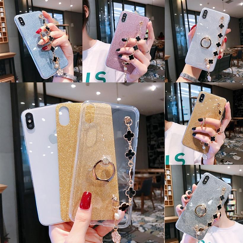 Bling Cases For Asus ZB601KL ZB602KL ZC550KL ZB631KL ZB570TL ZB633KL ZB555KL Zenfone Max Pro Plus M1 M2 Ring Cover Bumper