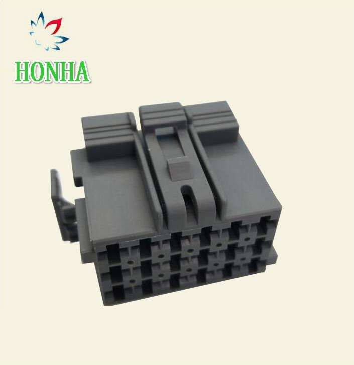 Frete grátis 50/100 pces/lotes te/amp/tyco conector automático 1-967624-1 967634-1 18 pinos/way fio arnês unsealed conector