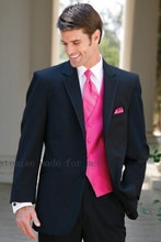 classic men's suit  Mens Suit One Button Wedding Suits Groom Tuxedos Groomsmen Suit Best Men Terno Slim Costume Homme 2PCS