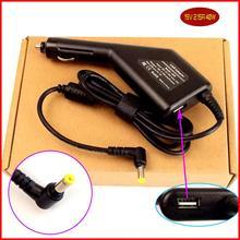 Laptop DC Power Car Charger Adapter 19 V 2.15A + Porta USB per Gateway Mini PC 11.6 Netbook/Laptop